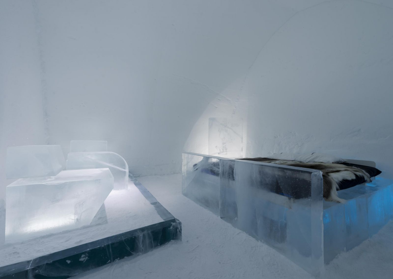 Ice room at ICEHOTEL
