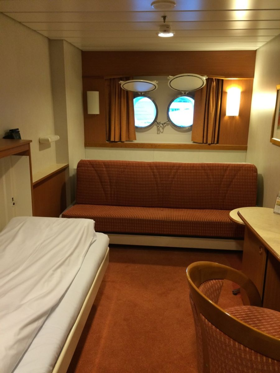L Class Cabin on Hurtigruten