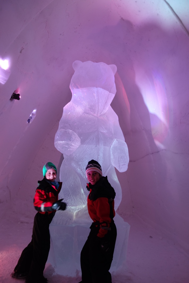 Snow Hotel to visit