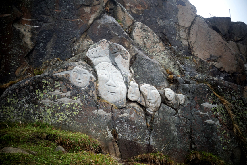 Rock art in Greenland
