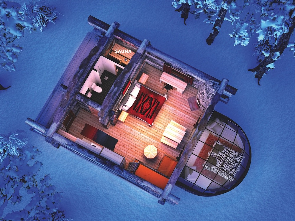 Kelo Igloos in Finland