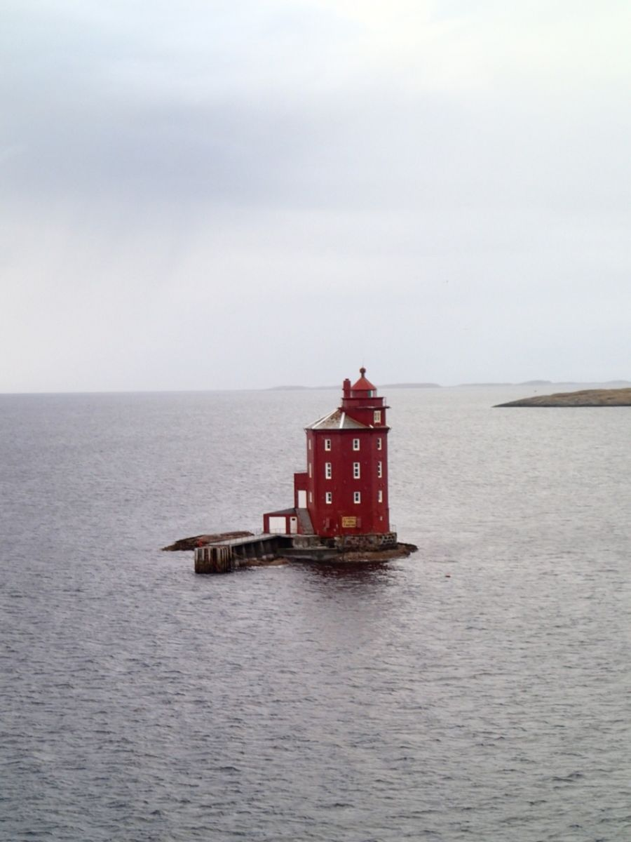 Norway Lighthouse Kjeungskjaer Fyr