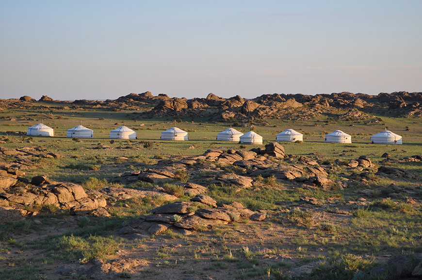 Red Rock ger camp by Birgitta Borg - Mongolia Tour