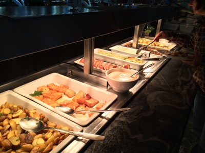 Hurtigruten Buffet