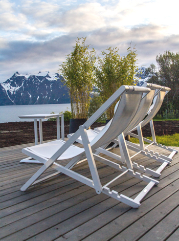 Lyngen Lodge with 50 Degrees North