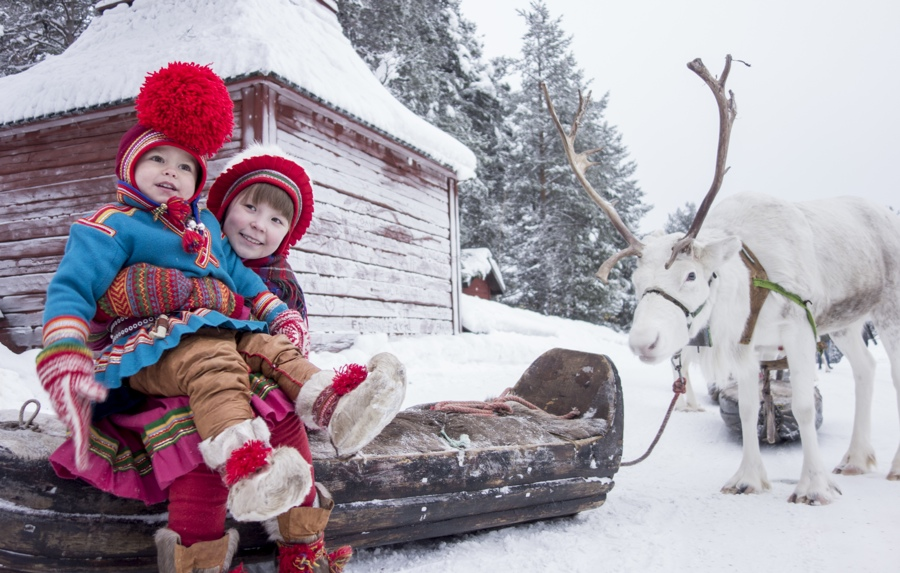 jokkmokk winter markets kids
