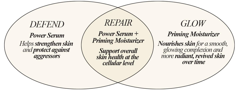 Skin set Venn Diagram