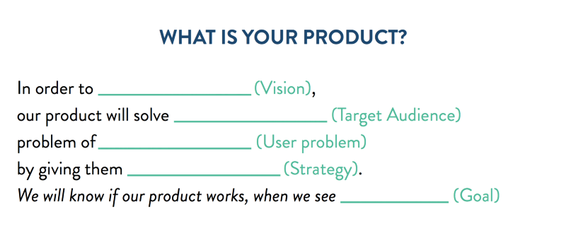 Product Definition Template