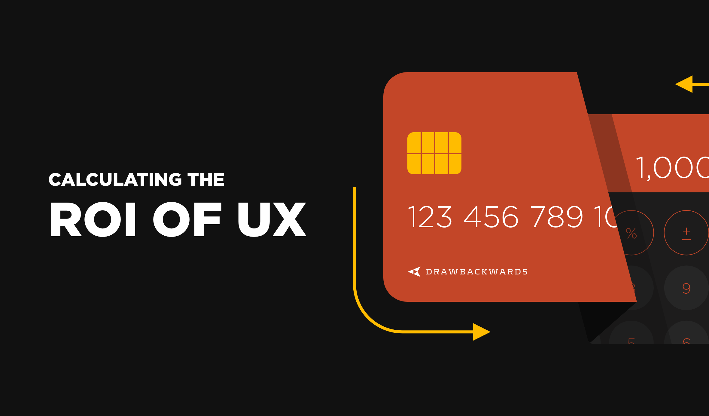 calculate ROI of UX