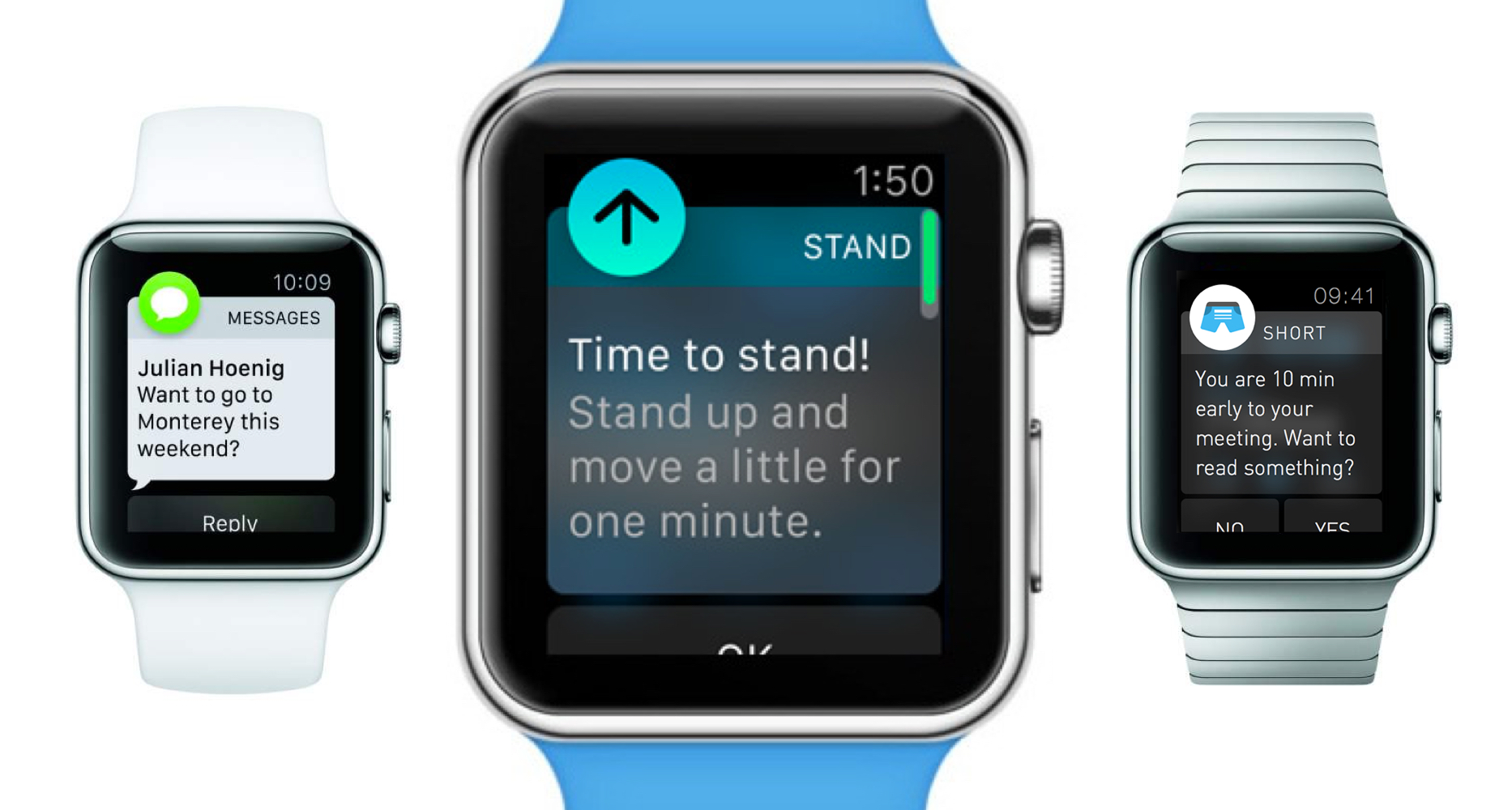 Apple Watch with Contextual Intelligence