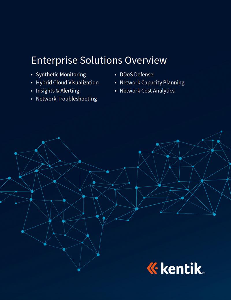 Kentik Enterprise Solutions Overview