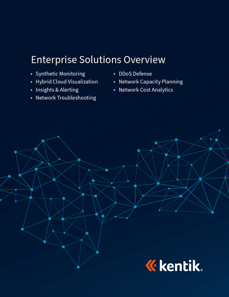 Kentik Enterprise Solutions Overview