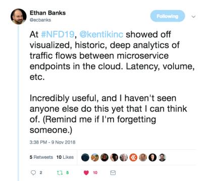 Ethan Banks Tweet