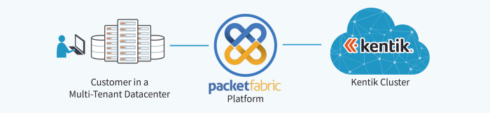 PacketFabric Virtual Peering for Kentik Diagram
