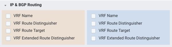 Kentik VRF Dimensions