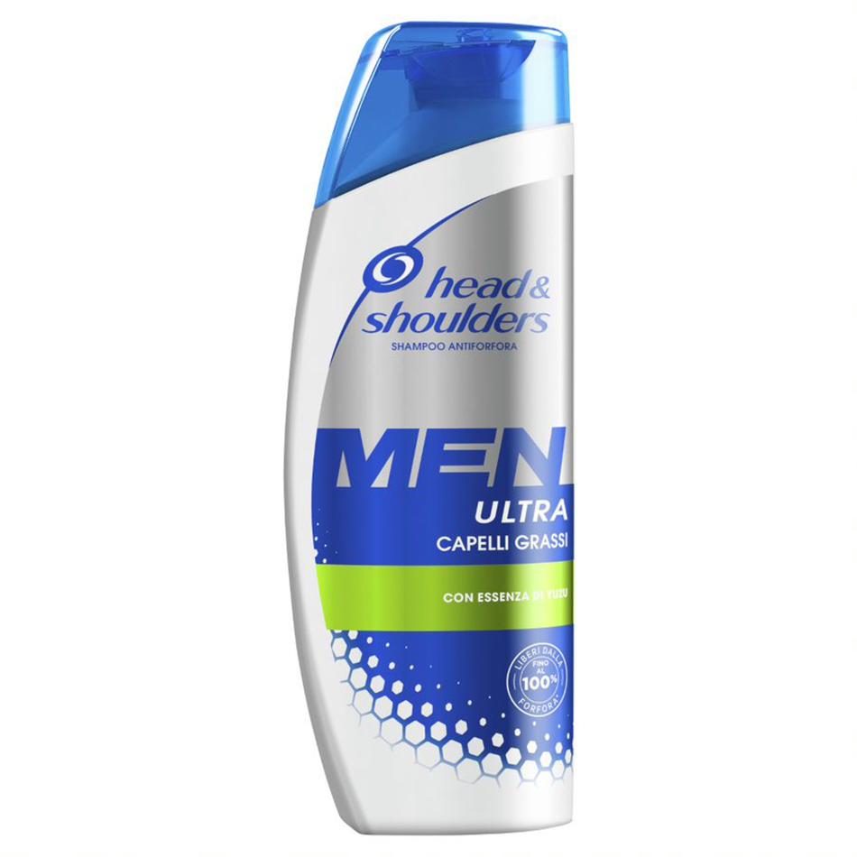 Shampoo Men Ultra Capelli Grassi
