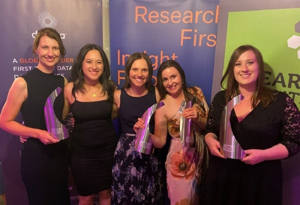 AA Insurance Insights team won twice at the prestigious industry Research Association Effectiveness Awards.