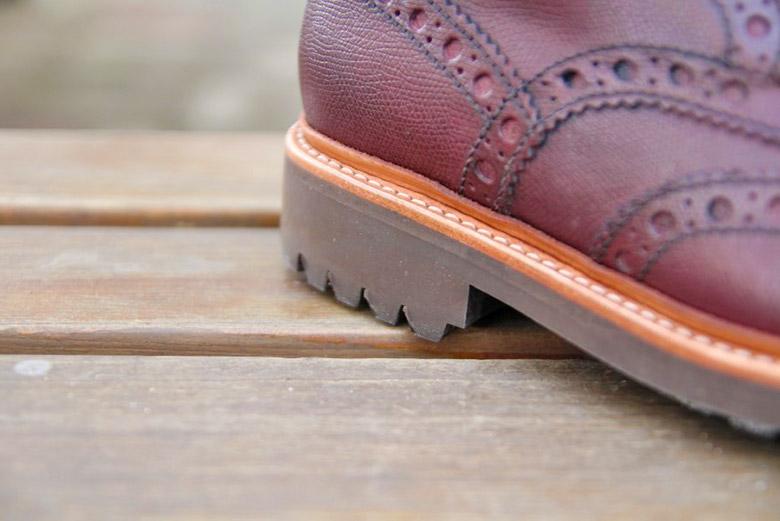 Grenson Fred Brogue Boot Heel