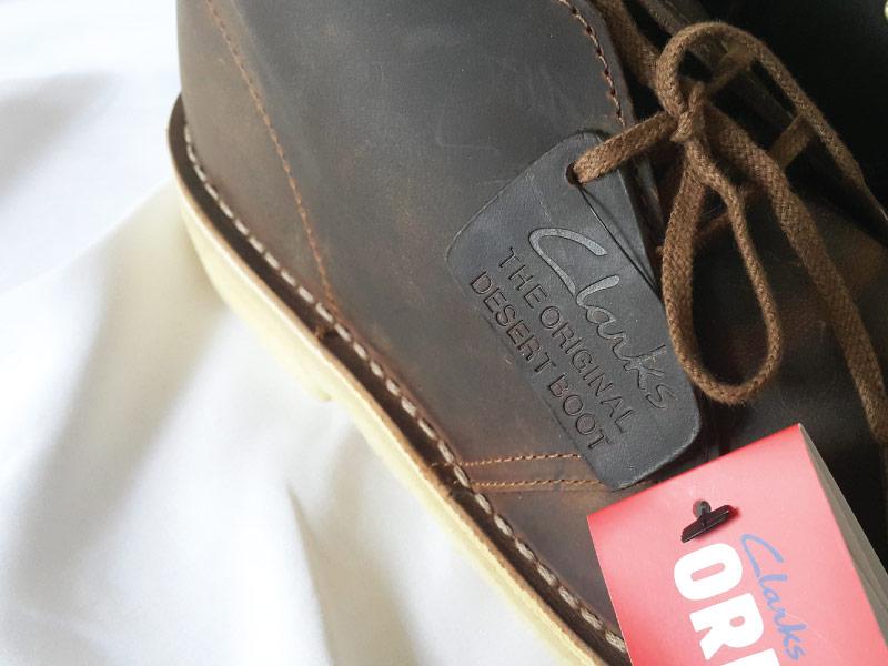 Clarks Desert Boots Logo