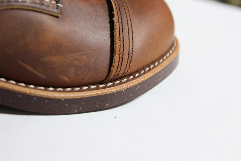 Red Wing Iron Ranger Toe Stitch