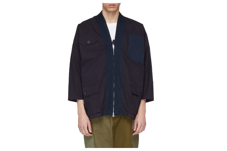 FDMTL Collarless Jacket