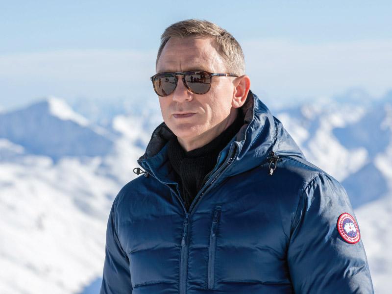 Daniel Craig Spectre Canada Goose
