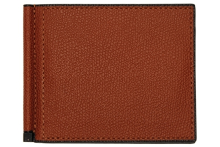 Valextra Simple Grip Spring Wallet