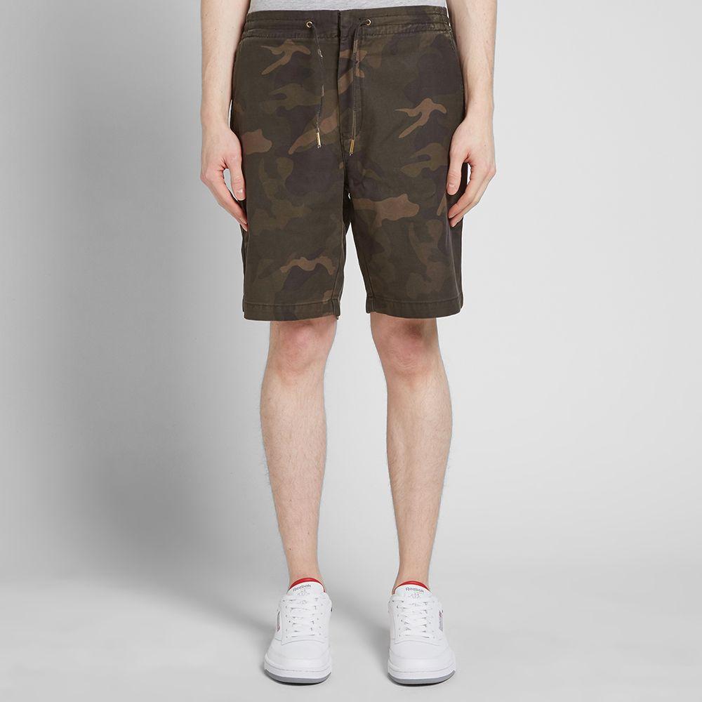 Barbour Bay Camo Shorts Bottom