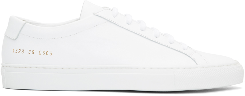 Common Projects Achilles Low White
