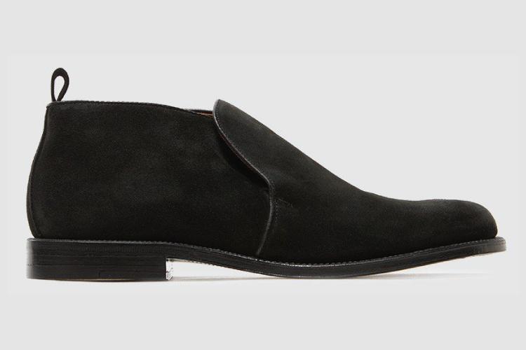 Alden Pine Slip On Chukka Boot