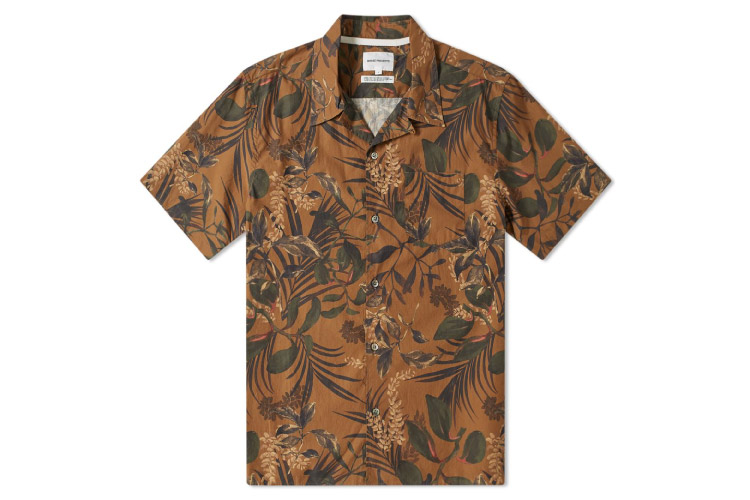 Norse Projects Carsten Floral Print Shirt