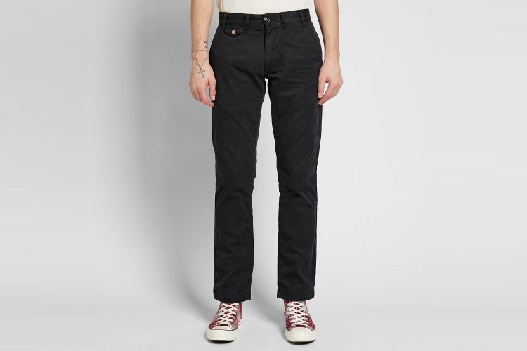 Barbour Neuston Twill Pants Outfit