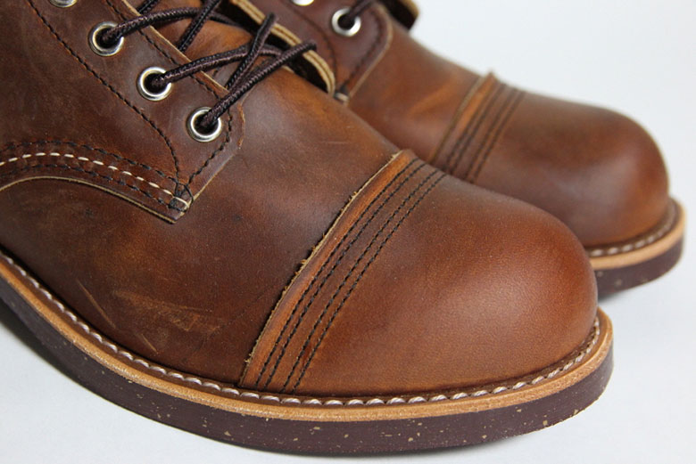 Red Wing Iron Ranger Toe Box