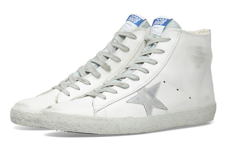 Golden Goose Deluxe Brand Francy Leather High Sneaker
