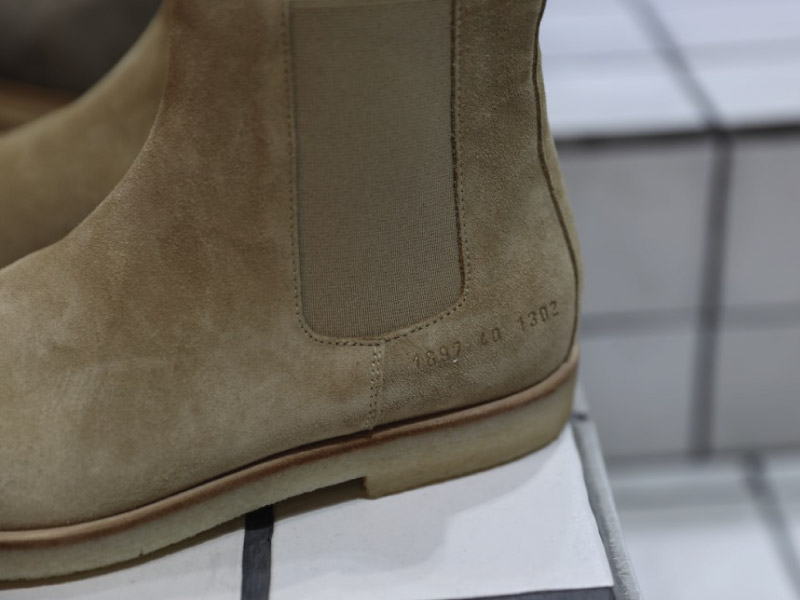 Common Projects Chelsea Boots Close Up