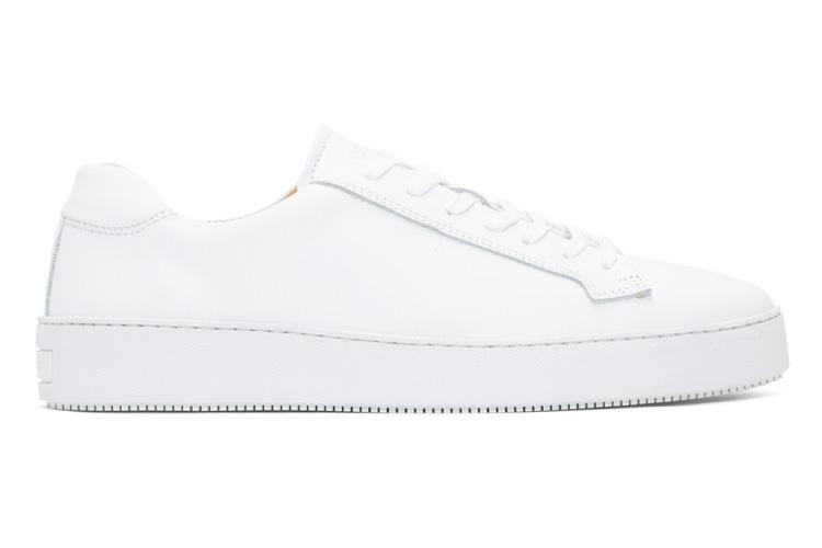 Tiger of Sweden White Salas Sneaker