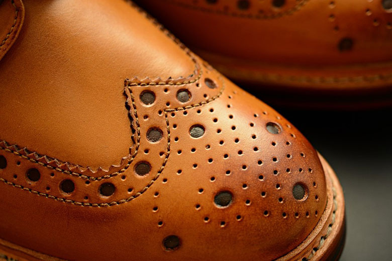 Grenson Archie Toe Box Close Up