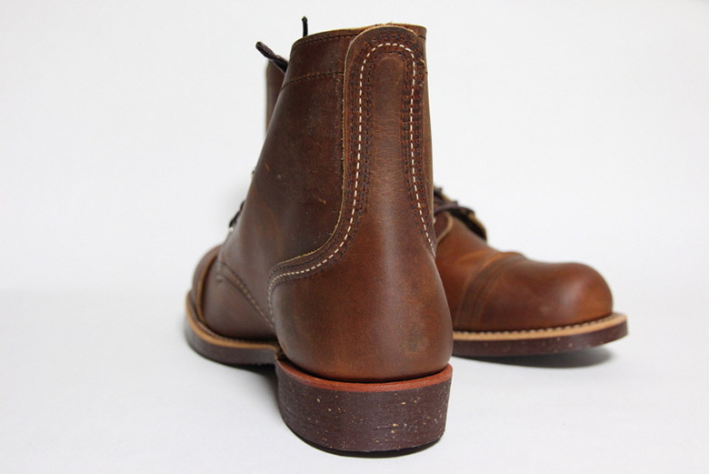 Red Wing Iron Ranger Heel Back
