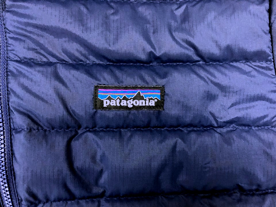 Patagonia Down Sweater Jacket Chest Logo