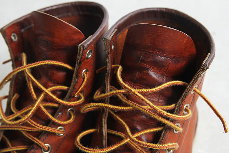 Red Wing Moc Toe 875 Shoe Tongue