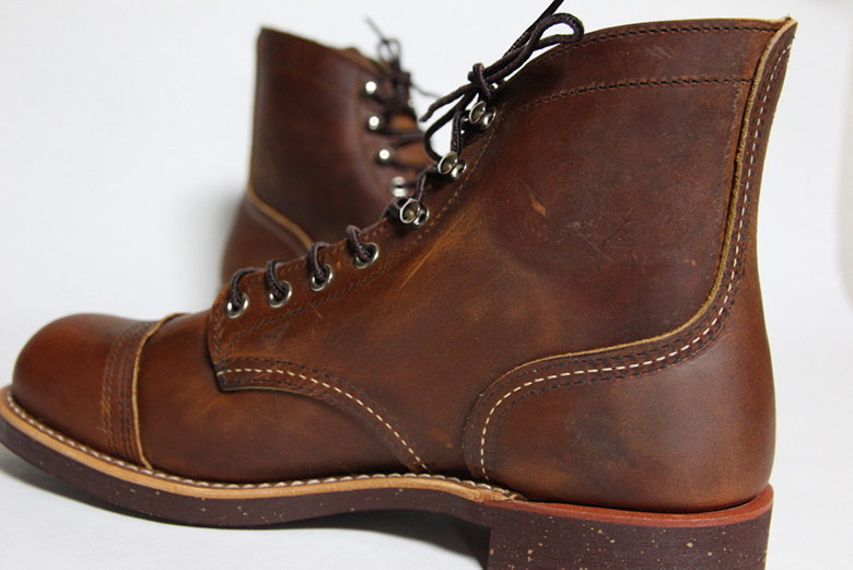 Red Wing Iron Ranger Side