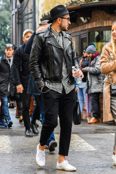 Schott Perfecto Jacket Double Rider Jacket Outfit