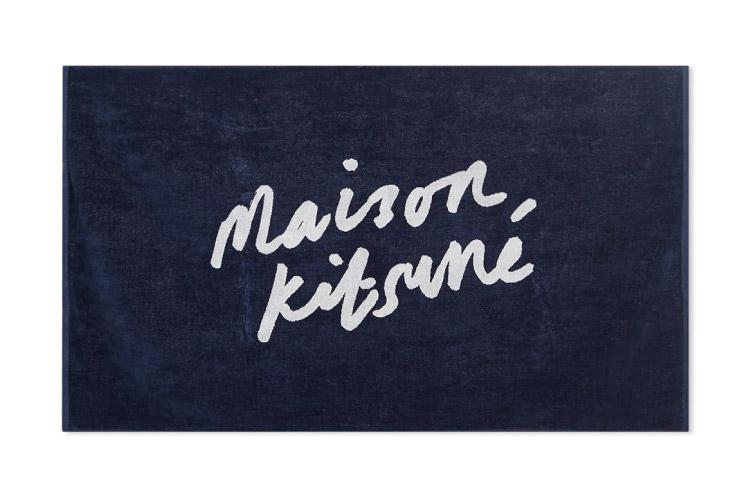 Maison Kitsune Parisien Beach Towel