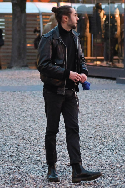 A2 Leather Jacket Flight Jacket Outfit