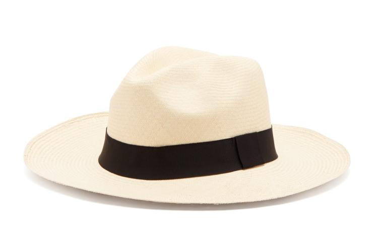 Guanabana Wide-brimmed Straw Hat