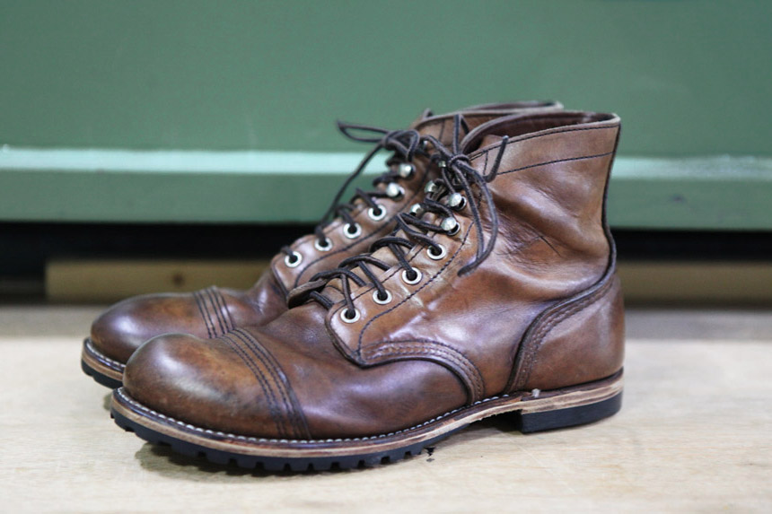Red Wing Iron Ranger after 1 year