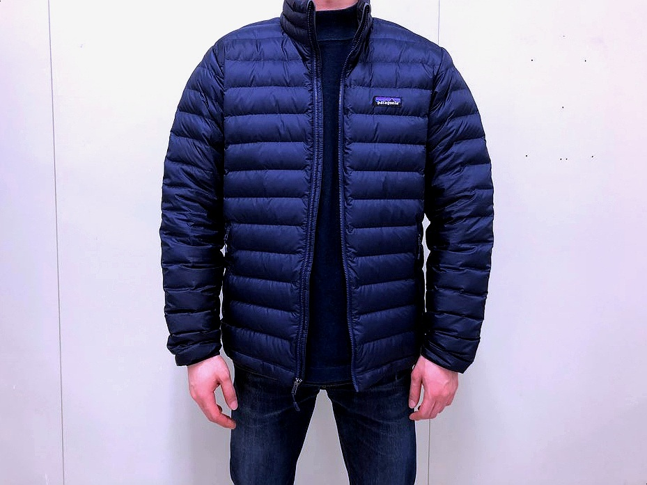 Patagonia Down Sweater Jacket Fit Front