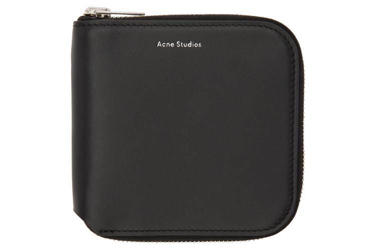 Acne Studio Black Small Csarite Wallet