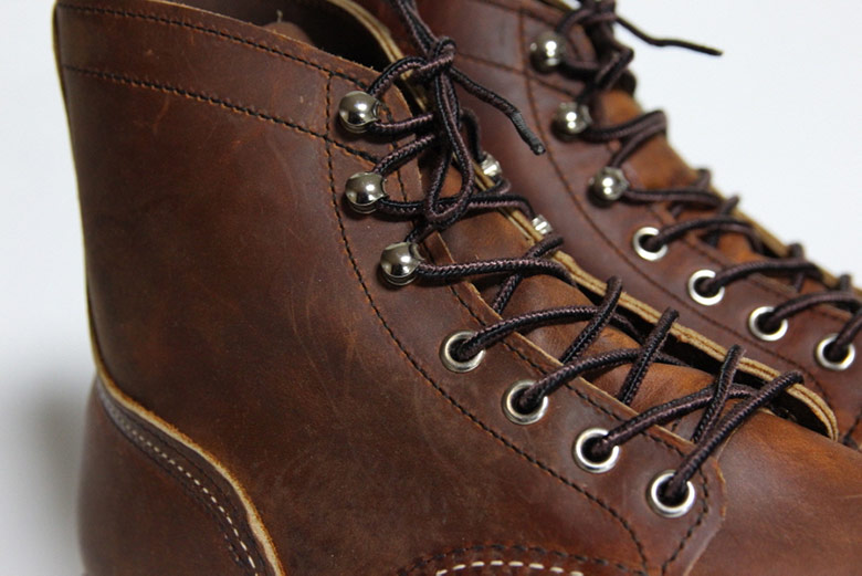 Red Wing Iron Ranger Leather