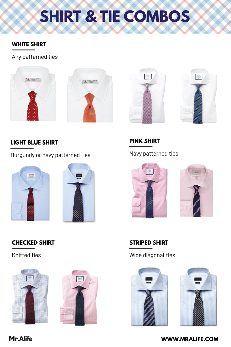 d7db2a56d89b A Simple Guide to Shirt and Tie Combinations | Mr.Alife